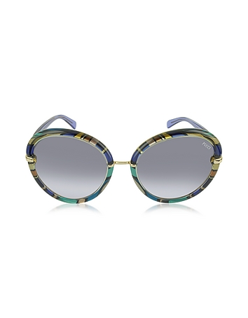 EP0012 Fantasy Acetate Round Sunglasses