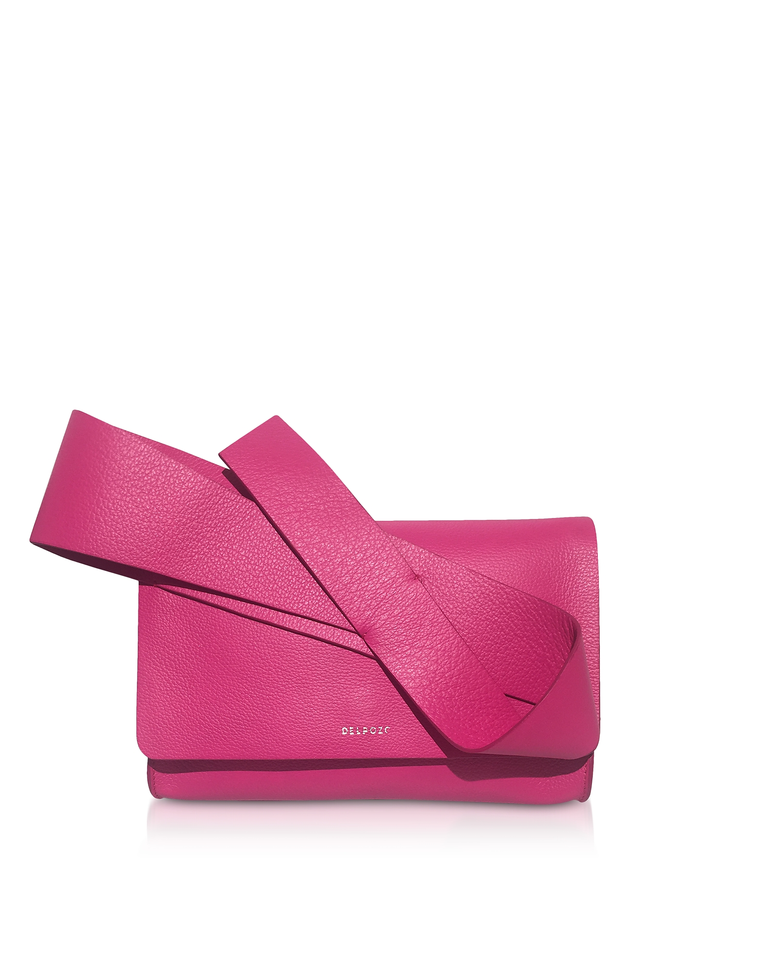 Fuxia Cuir Orchidée Embrayage
