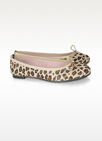 Ofelia - Horsehair Ballerina Shoes - Palazzo Bruciato