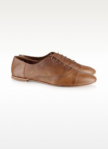 Genny - Chaussures en cuir à lacets  - Palazzo Bruciato