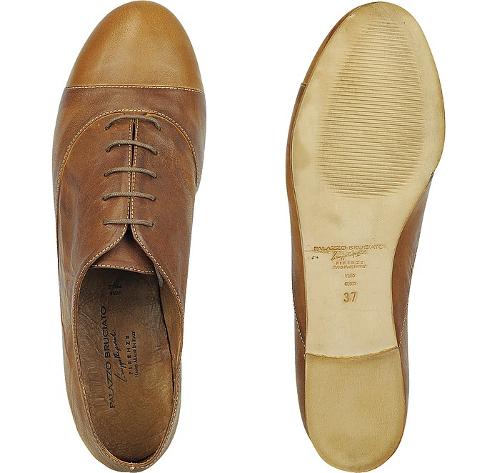 Palazzo Bruciato Leather Shoes