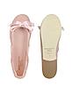 Lucrezia - Pink Suede Ballerina Shoes - Palazzo Bruciato