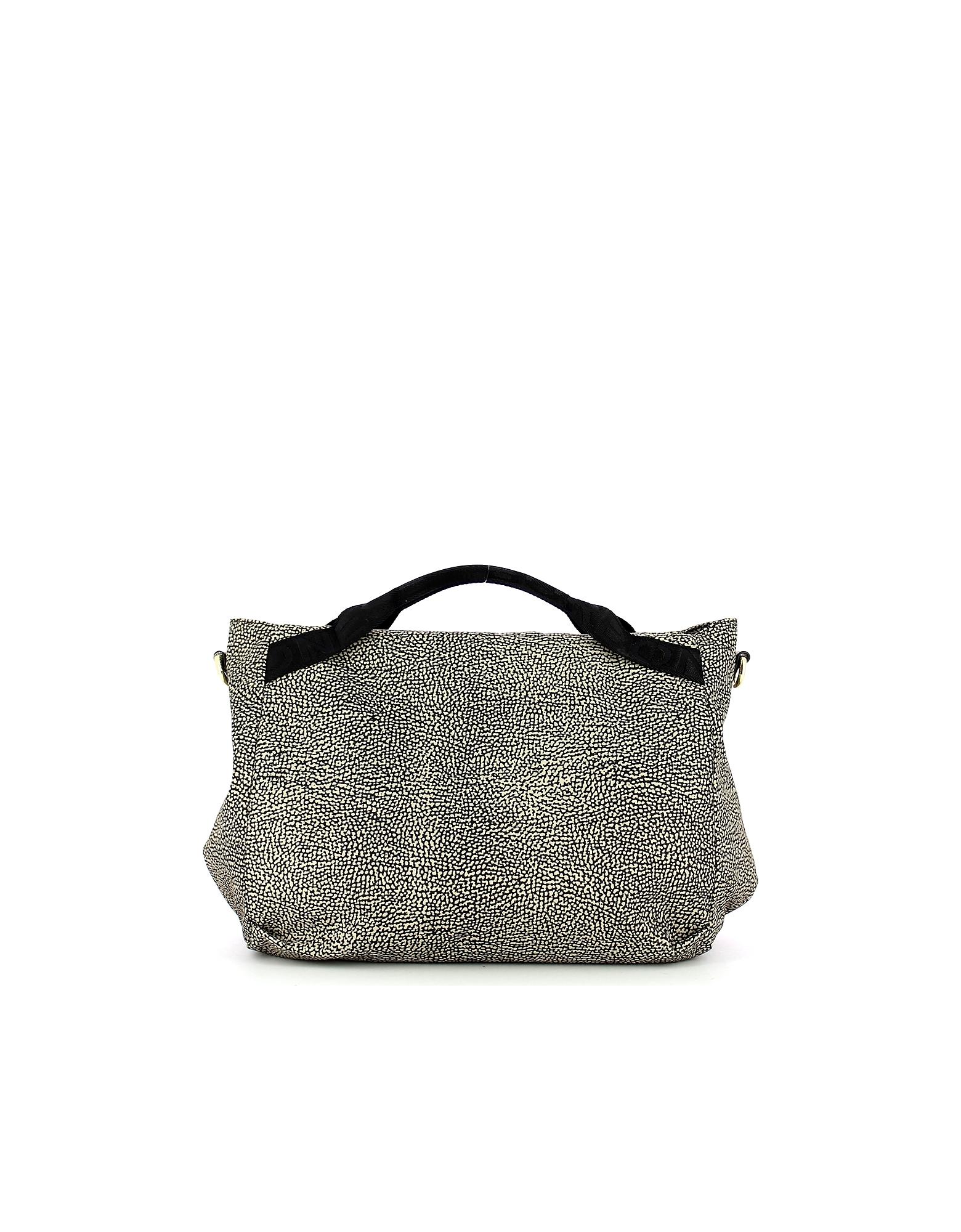 Borbonese Designer Handbags, Women's Black Bag