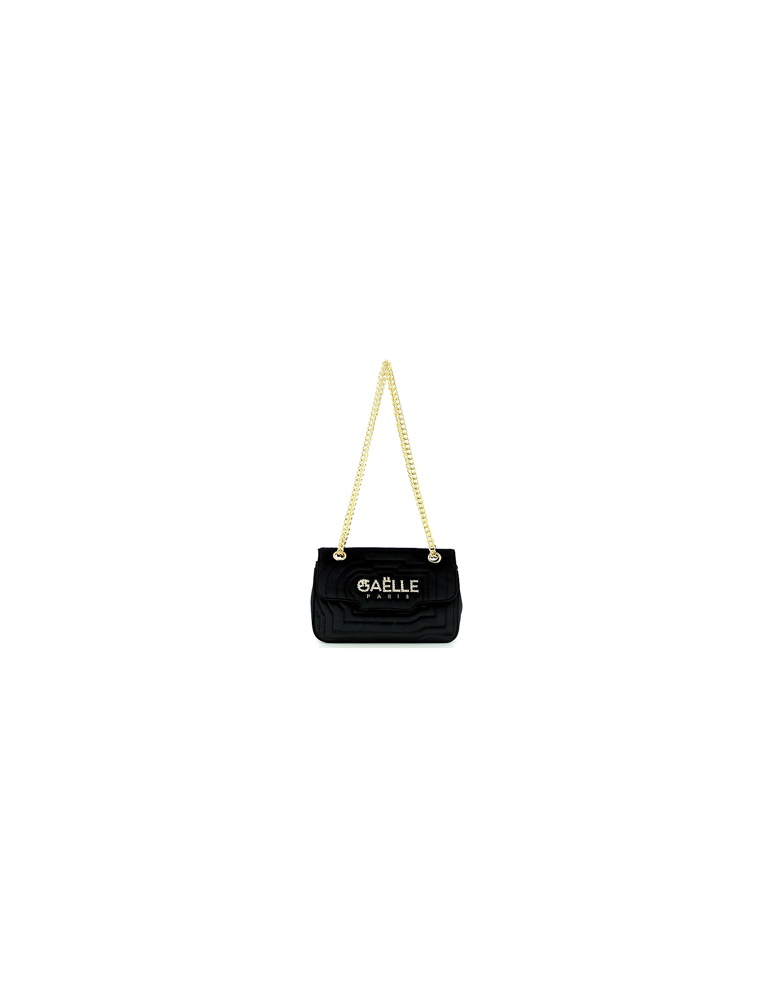 GAELLE PARIS Designer Handbags, Women's Black Bag