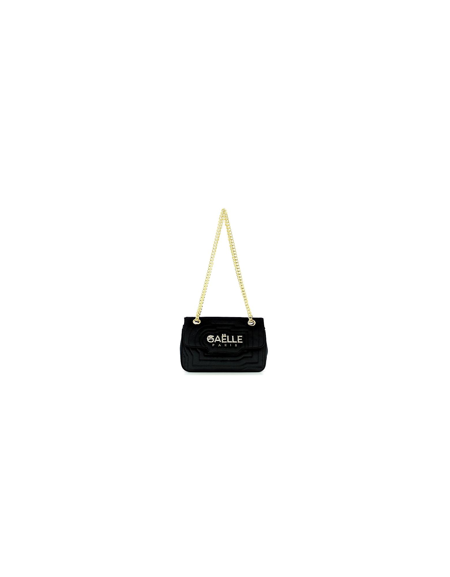 GAELLE PARIS Designer Handbags, Women's Black Bag
