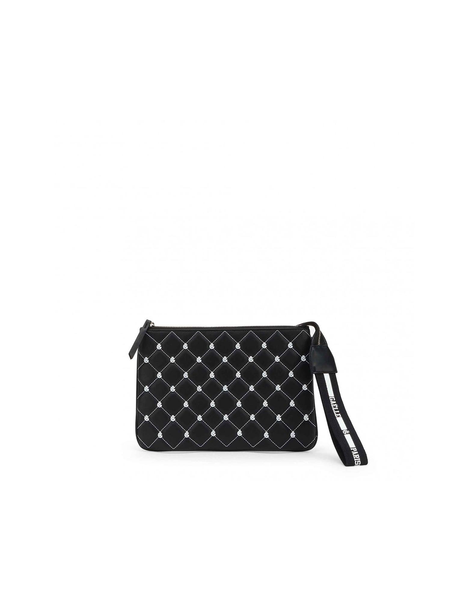 GAELLE PARIS Designer Travel Bags, Women's Black Beauty Case