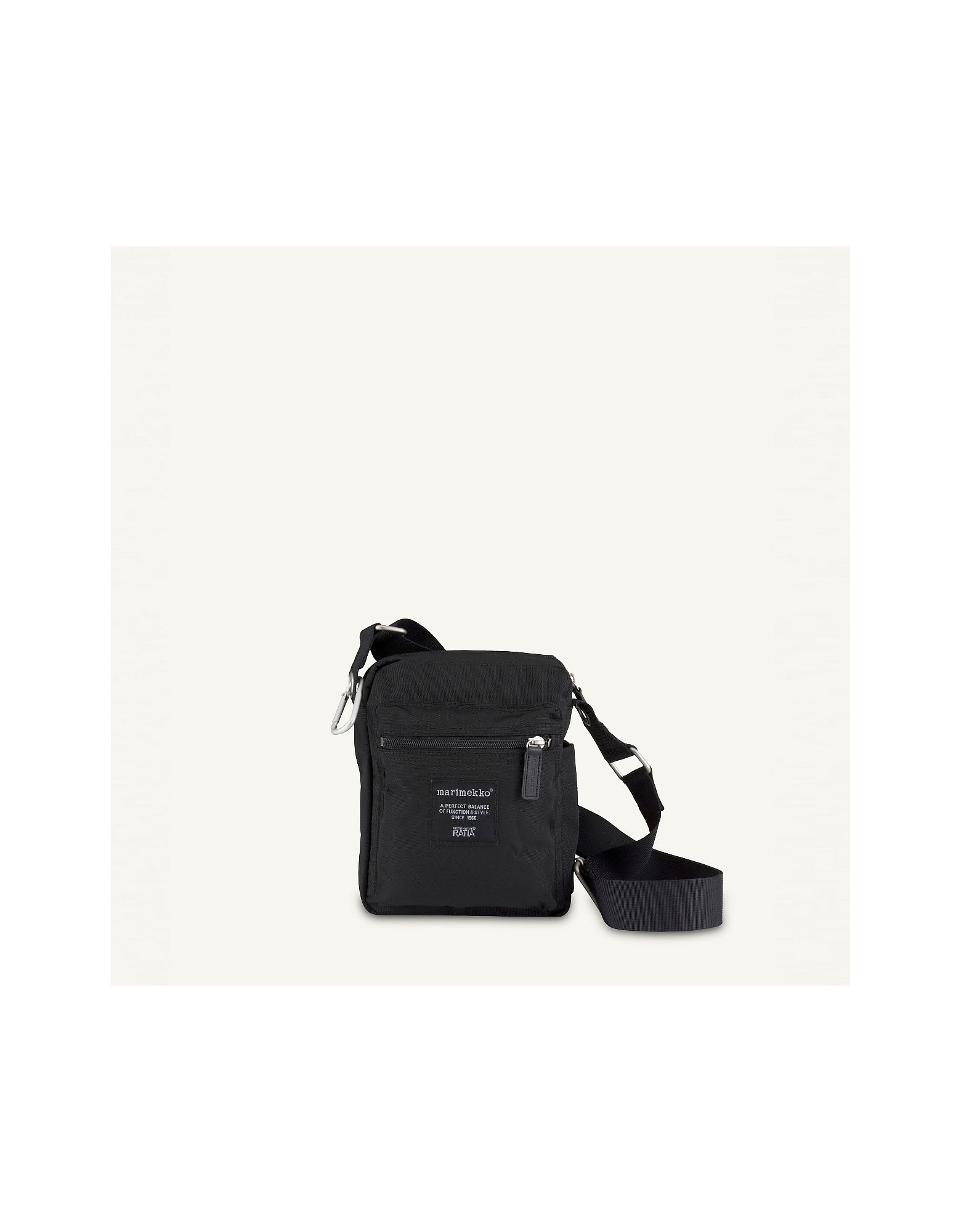 MARIMEKKO Designer Handbags, Black Crossbody Bag