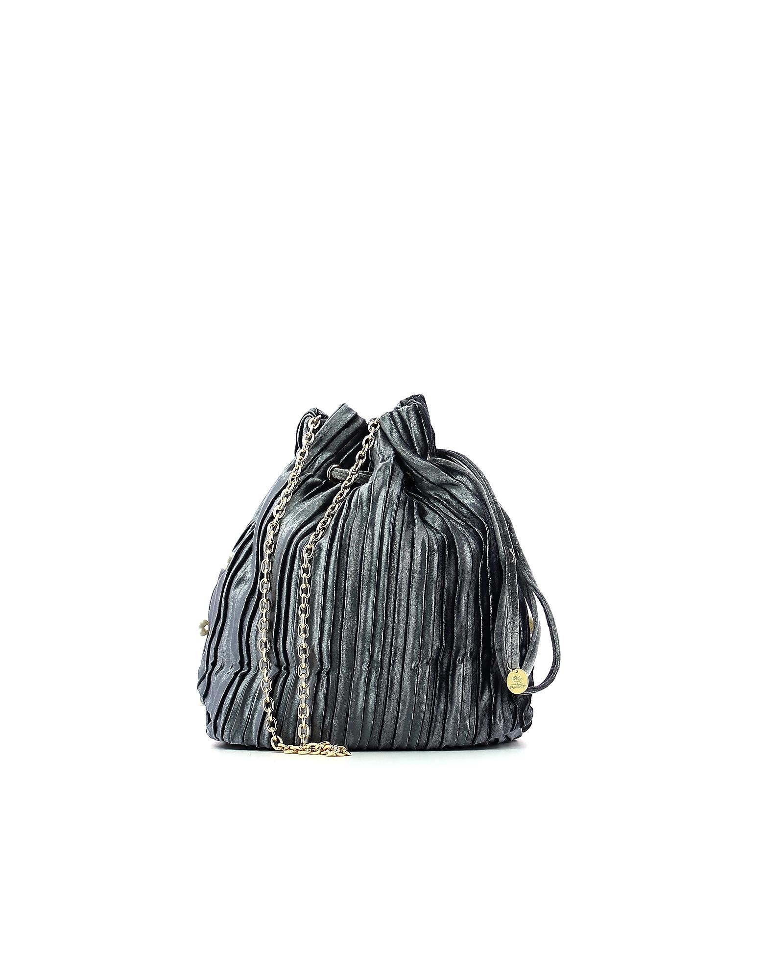 POMIKAKI Designer Handbags, Women's Gray Bag