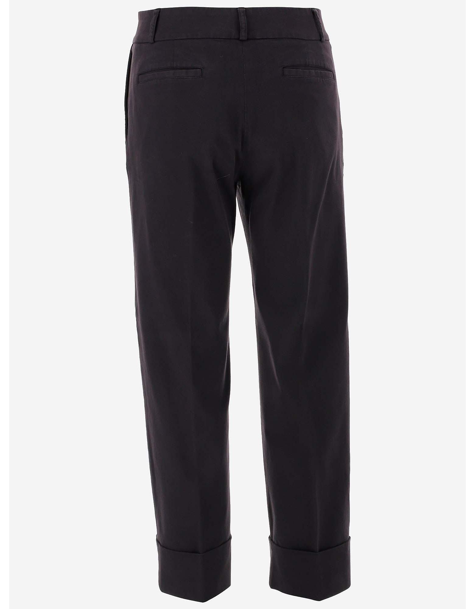 QL2 Donna Designer Pants, Women's Straight Pants