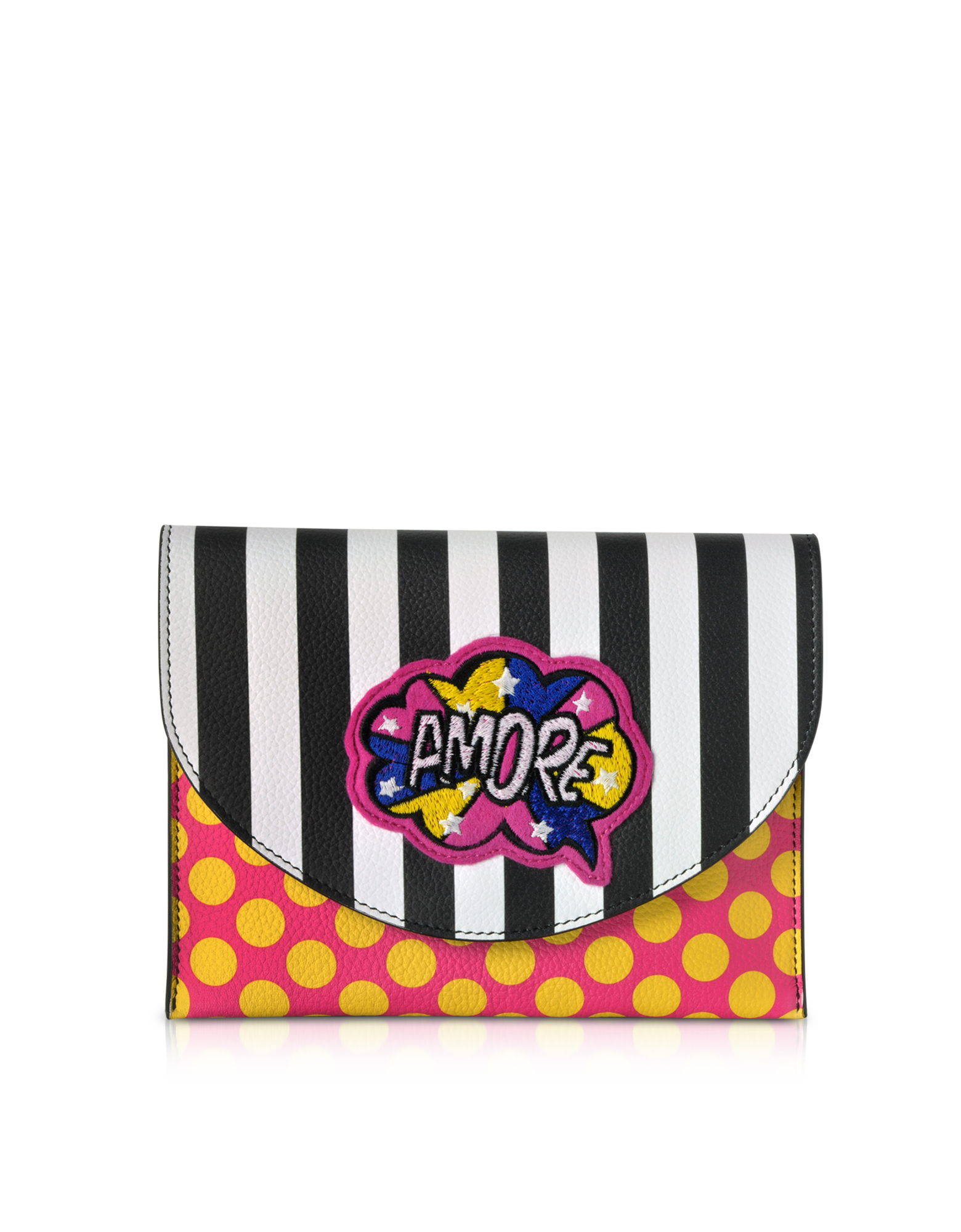 Image of Miracle Pop Amore Leather Clutch