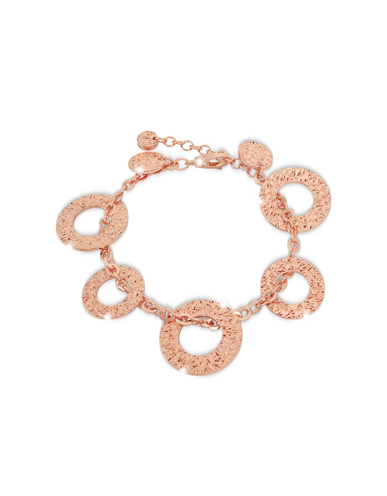 Rebecca Bracelets, R-ZERO Rose Gold Over Bronze Bracelet