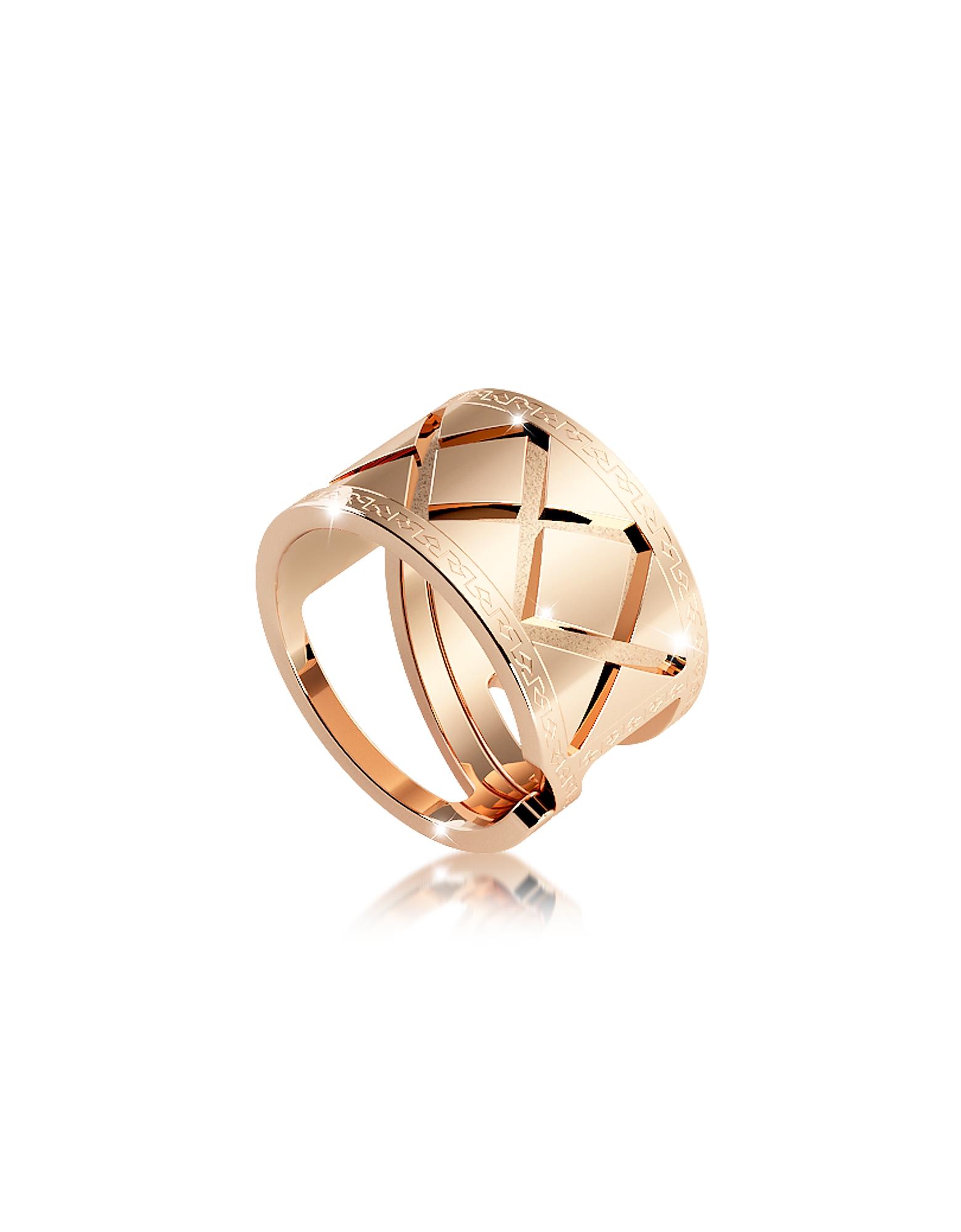Фото Melrose - Кольцо из Бронзы с Покрытием Желтого Золота. Купить с доставкой