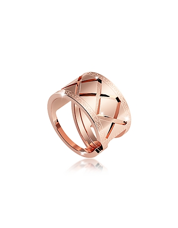 Rebecca - Melrose Rose Gold Over Bronze Ring