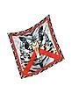 Tiger Printed Twill Silk Square Scarf - Roberto Cavalli