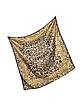 Animal Print and Stars Pure Silk Square Scarf - Roberto Cavalli