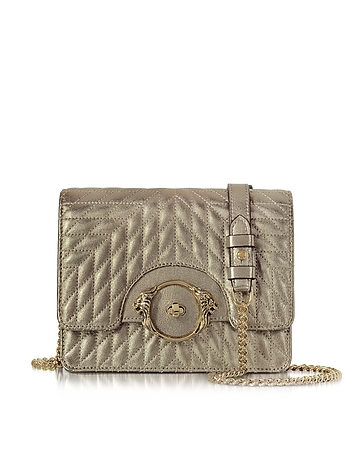 Roberto Cavalli - Star Metallic Quilted Nappa Leather Shoulder Bag
