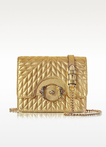Star Metallic Quilted Nappa Leather Shoulder Bag - Roberto Cavalli