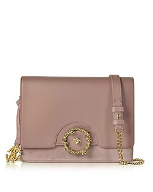 Genuine Leather and Suede Shoulder Bag - Roberto Cavalli