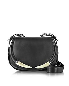 Horn Smooth Leather Shoulder Bag - Roberto Cavalli