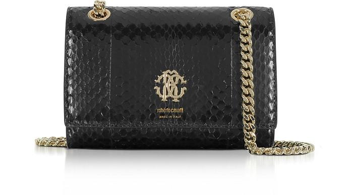 Roberto Cavalli Black Leather Bu... Roberto Cavalli New Arrival Online uGY9o6Yeq