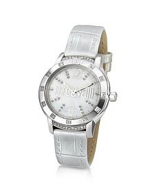 Crystal Lady - Mother of Pearl Dial Dress Watch - Just Cavalli