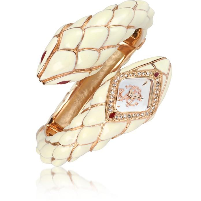 Snake Star - Logo Bracelet Watch - Roberto Cavalli