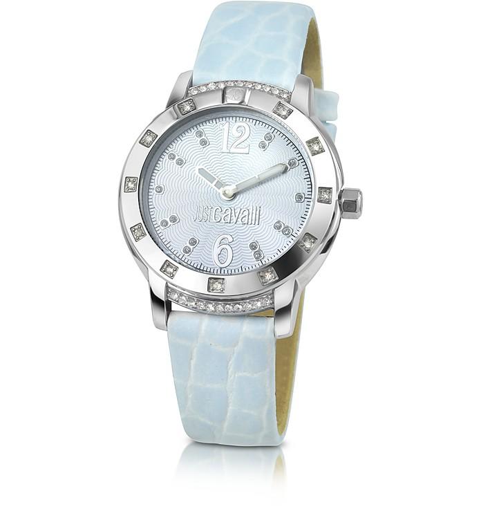 Pastel Croco Watch - Just Cavalli