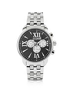 Lux-ID 208446 Earth - Black Multifunction Watch