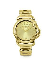 Eden - Golden Dial Bracelet Watch - Just Cavalli