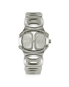 Born JC - Silver Dial Bracelet Watch - Just Cavalli