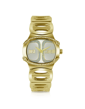 Born JC - Golden Dial Bracelet Watch