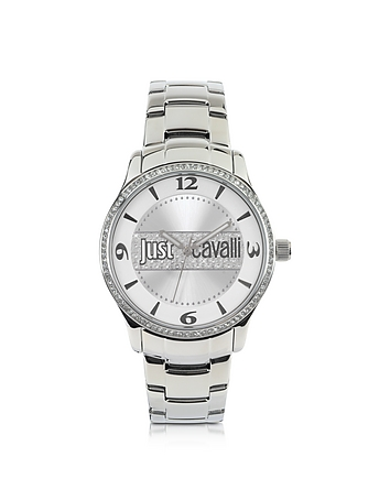 Just Cavalli - Huge Collection Silver Dial Stainless Steel Watch