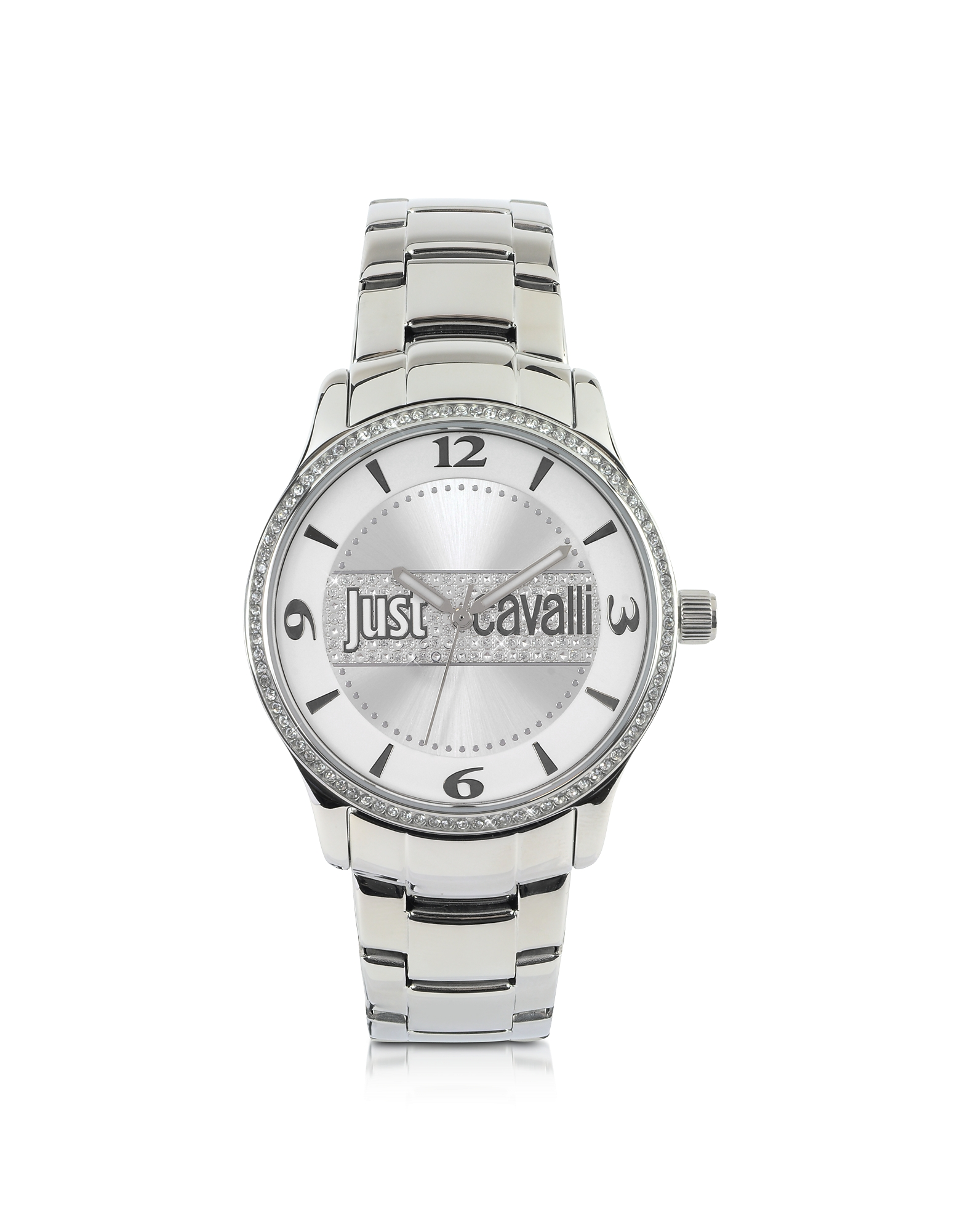 Just Cavalli Women's Watches, Huge Collection Silver Dial Stainless Steel Watch