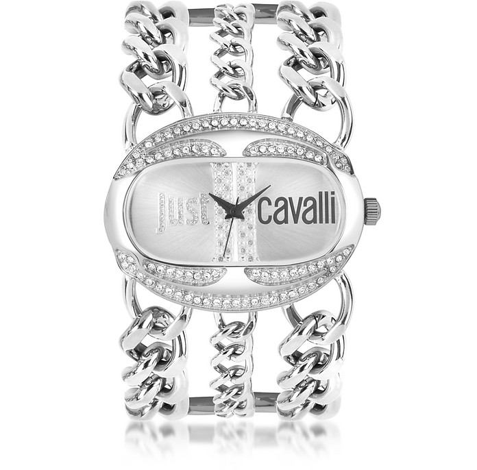 Trinity Collection Chain Bracelet Watch - Just Cavalli