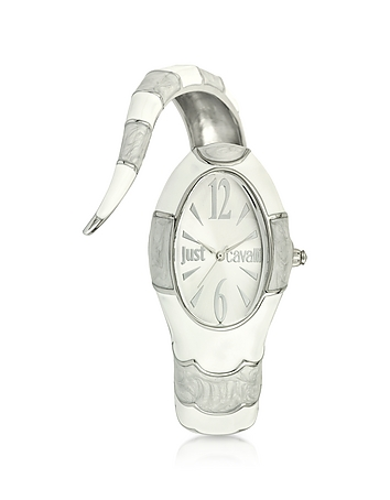Just Cavalli - Poison Jc 3H Silver Dial Stainless Steel Women's Watch