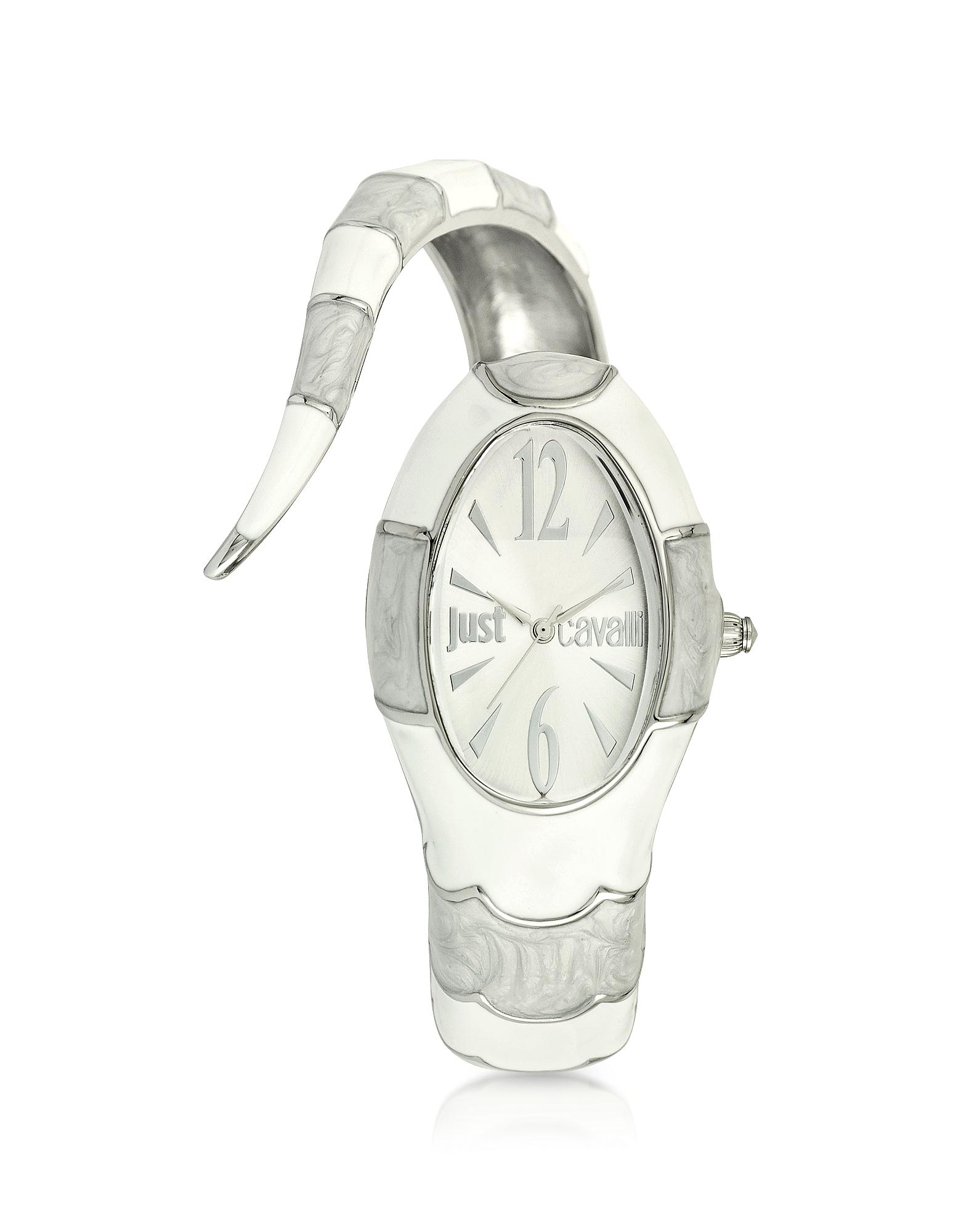 Poison Jc 3H - Женские Часы из Нержавеющей Стали с Серебристым Циферблатом