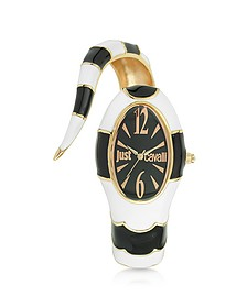 Poison Jc 3H Black Stainless Steel Dial Women's Watch - Just Cavalli