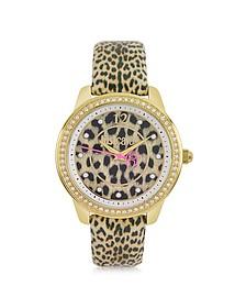 Leopard 3H Women's Watch - Just Cavalli
