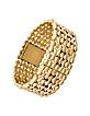 Oryza - Gold Plated Signature Bracelet Dress Watch - Roberto Cavalli