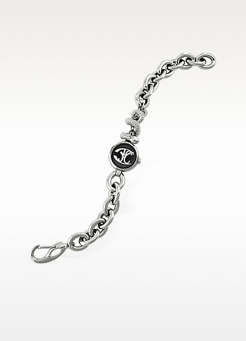 Snake End - Stainless Steel Bracelet Watch - Just Cavalli