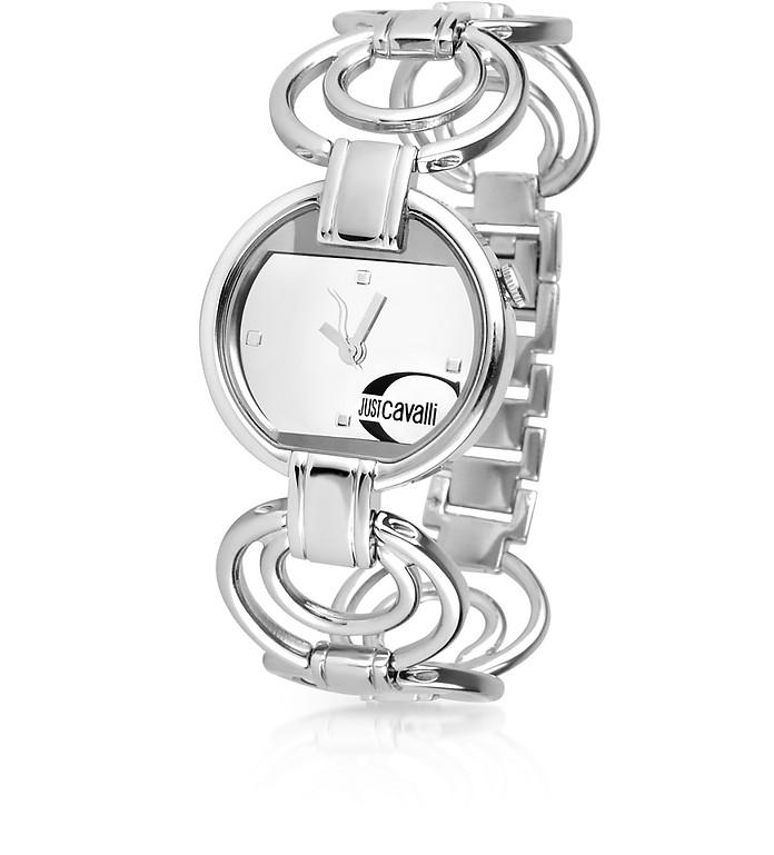 Metis - Signature Mirror Dial Link Bracelet Dress Watch - Just Cavalli