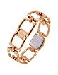 Hole - Rose Gold Plated Cutout Link Bracelet Watch - Just Cavalli