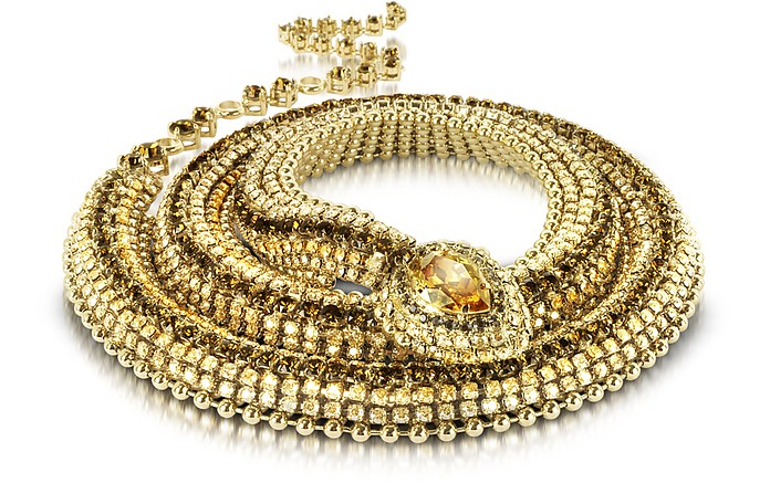 Snake Necklace/Belt - Roberto Cavalli