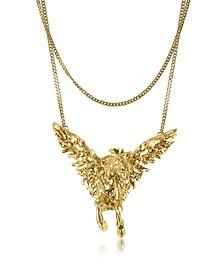 Pegaso Metal Necklace - Roberto Cavalli