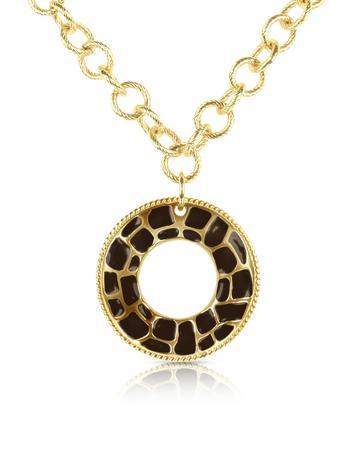 Just Cavalli Safari - Wheel Pendant Chain Necklace