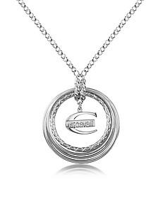Infinity - Logo Pendant Chain Necklace - Just Cavalli