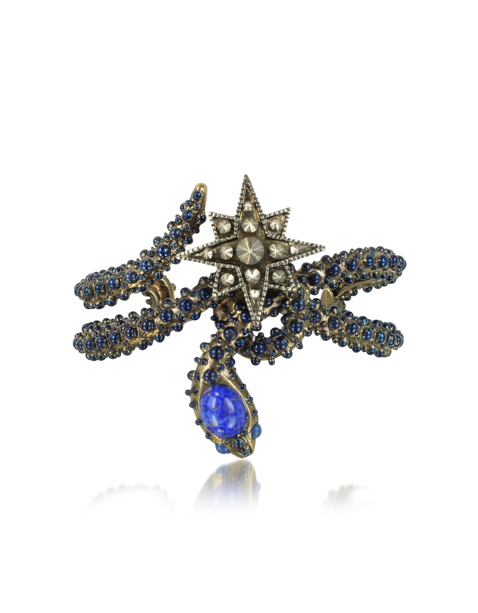 Snake Star Bracelet - Браслет с Синими Камнями