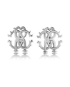 RC Icon Metal Stud Earrings