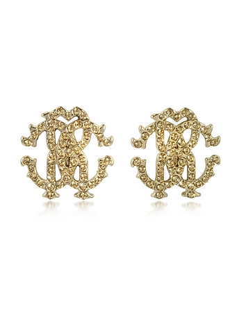 Roberto Cavalli - RC Lux Crystals Stud Earrings