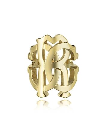 Roberto Cavalli - RC Lux Gold Tone Ring